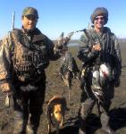 Texas duck hunting from north texas waterfowl hunting guide Richard Pulvino